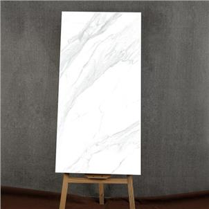 White Glazed Artificial Stone Tile Customized Size HKP715207