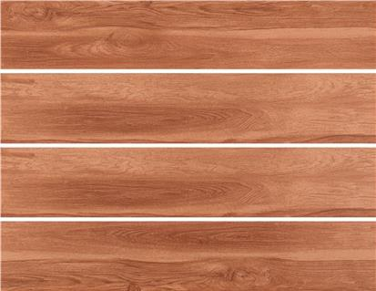 Brown Glazed Ceramic Wood Tile 150 x 800mm HMF815757