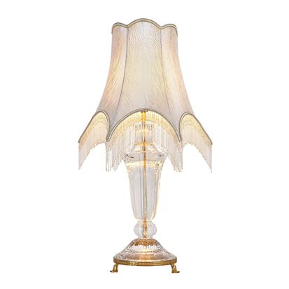 Hanse Ivory White Brass Table Lamp  HS-8224T-2