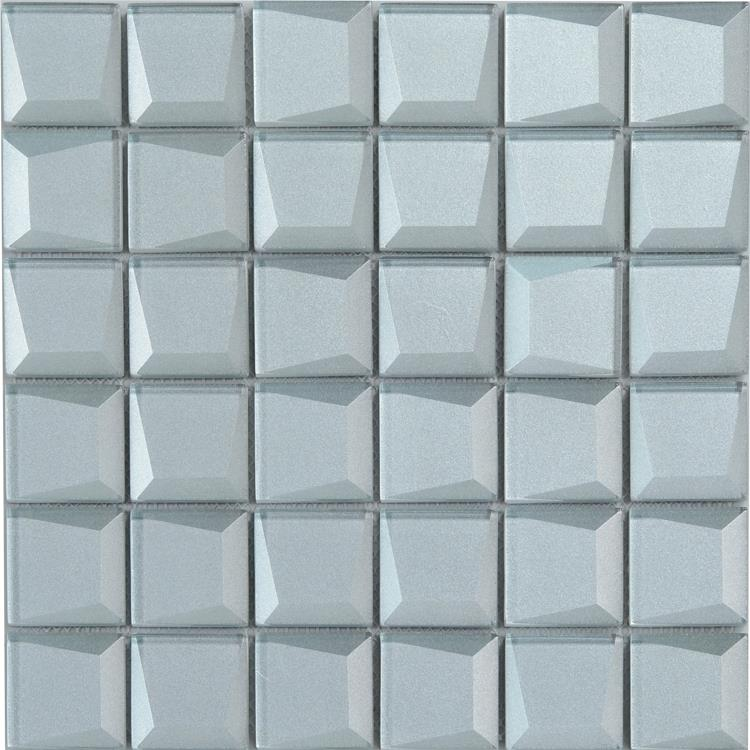clear glass mosaic tile