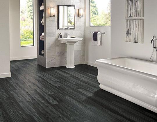 Black Wood Look Tiles Ceramic