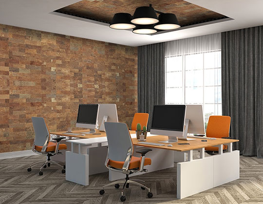 Office Wall Tiles Ideas With