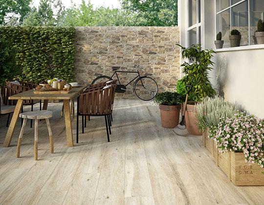 Outdoor Wood Look Tiles