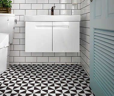 Geometric Flooring Tiles