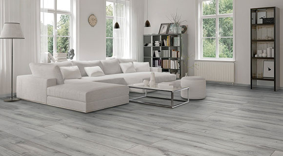 grey wood effect tile