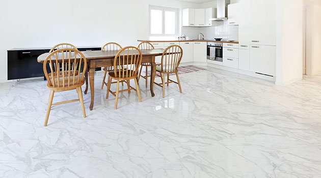 White Floor Tile
