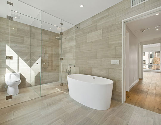 Wood Look Bathroom Tiles