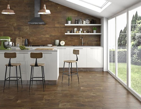 Wood Look Wall Tiles Ceramic Porcelain Wood Tile For Wall Wood Wall Tiles Manufacturer Supplier