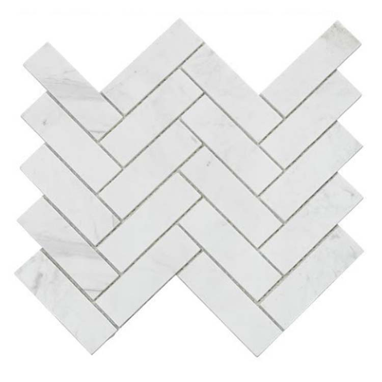 White Polished Ceramic Tile 300 x 300mm HLL04
