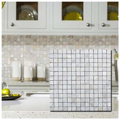 White Polished Ceramic Tile 300 x 300mm A-F01