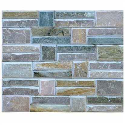 Coloured Matte Artificial Stone Tile 150 x 600mm HS-ZT010