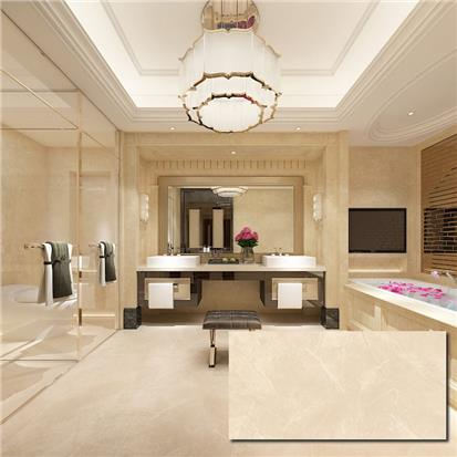 Beige Polished Porcelain Wall Tile 600 x 1200mm Y12D6005-TFL-1