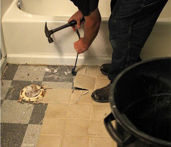 How To Remove Bathroom Tile Best Ways