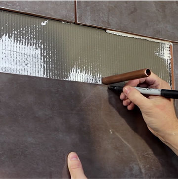 Toilet Pipes Diy Bathroom Tile Cutting, How To Cut Tiles Fit Around Pipes