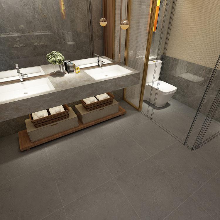 Gray Ceramic Terrazzo Floor Tiles
