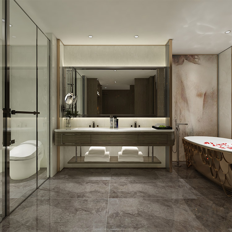 Dark Grey Polished Ceramic Wall Tiles